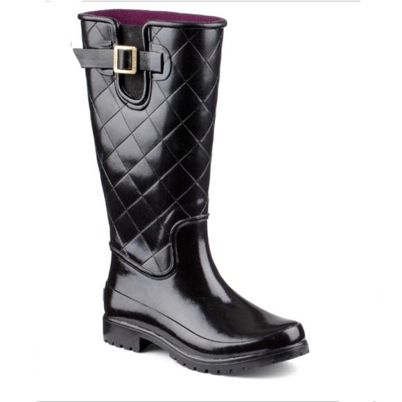 Sperry Pelican Iii Quilted Rain Boots